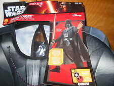 NWT~STAR WARS~DARTH VADER~HALLOWEEN COSTUME~Mens Size Small (34-36)~Medium (38-4