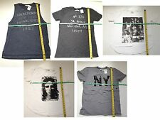 Abercrombie & Fitch Women's LOGO GRAPHIC MUSCLE NYC LIVING PHOTOREAL NY T-SHIRT