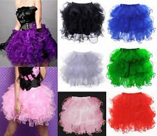 Sexy Adult Multi-layered Floral TUTU Skirt For Party/Club/Corset Dress/Everyday