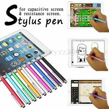Fine Point Tip Capacitive & Resistive Stylus Pen for iPad iPhone Samsung Kindle