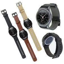 Genuine Leather Watchband strap for Samsung Gear S2 CLASSIC SM-R732 Smart Watch