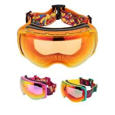 UV 400 Protection Double Lens Goggles Skiing Skating Goggles Glasses EQ6V