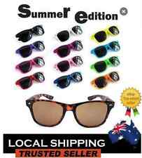Mens Womens Wayfarer Sunglasses 12 Colours To Choose Retro Fashion Fast Postage