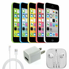 AT&T iPhone 5c 8 16 32 GB Apple Factory Unlocked Smartphone Clean ESN