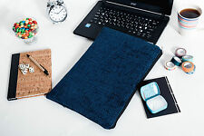 "Blue Laptop Padded Sleeve Case Cover 11"" 12"" 13"" MacBook Air Pro Retina"