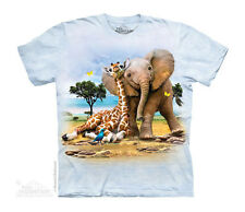 Best Pals Kids T-Shirt from The Mountain. Zoo Animals Child Sizes NEW