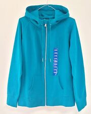 NWT Champion Women's Full Zip Soft Fleece Lined Hoodie-Turquoise Large