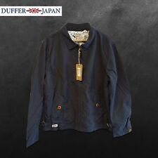 DUFFER JAPAN DARK NAVY SELECTOR JACKET - BRAND NEW/TAGS RRP £150 - SAVE 80% OFF