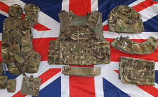 MTP CAMO BODY ARMOUR MK4 /A ASSAULT OSPREY VEST COMPLETE - SIZES , British Army