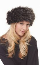 """New With Tags  Parkhurst Faux Fur """"Sherpa""""  Hat 1 size 23503 made in Canada"""