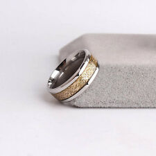 Top Sale Men Dragon Scale Ring Jewelry Wedding Band 18K Gold Size 8 9 10 11 12