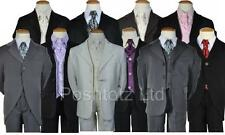 Boys Suits 5pce suits 0-3mth-14-15yrs pageboy christening formal wear Fantastic