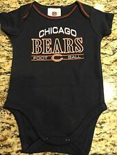 CHICAGO BEARS CREEPER-, 0-3,3-6 MONTH ALL COLORS,NFL BABYSUIT-LICENSED-BRAND NEW