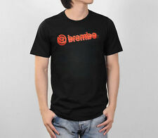 Brembo Graphic Logo Brake Systems Performance Motor Racing Sport Men Tee T-Shirt