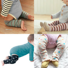 Infant Baby Boys Girls Arm Legs Warmers Toddler Warm Dots Strips Socks Legging