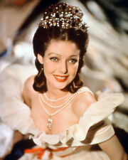 LORETTA YOUNG BEAUTIFUL OFF SHOULDER COLOR PHOTO OR POSTER