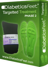 DiabeticsFeet Targeted Treatment Insoles and Socks - Diabetic Circulation Relief