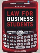 Law for Business Students, Adams, Ms Alix, Used; Good Book