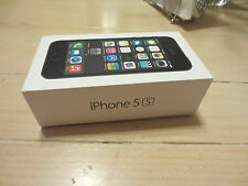 iPhone 5S Space Gray 16G **EMPTY BOX ONLY**