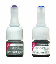 2 X MARVELLASH EYELASH GLUE - MEDICAL GRADE ADHESIVE *** INCLUDES OPTION FOR 1