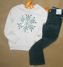 Gymboree All Spruced Up Snowflake Sweater w/Super Skinny Pant  10 NWT