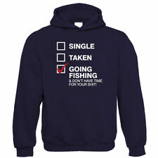 Going Fishing, Mens Funny Fishing Hoodie - Birthday Gift for Dad Him Fathers Day