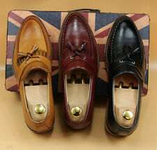 New Mens Fashion Tassel Office Work Casual Tassel Loafers Shoes