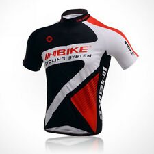 Men Cycling Jersey Breathable Polyester Bicycle Clothing T-shirt Outdoor Wear
