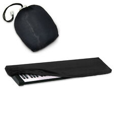 Elastic Black Dust Cover w/Bag for Casio 76-88-Key Digital Piano Synthesizer