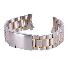 Luxury Replacement Link Bracelet Watch Strap Band Stainless Steel 18-24mm H92