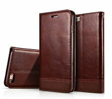 Luxury Flip Leather Wallet Case Magnetic Stand Cover Skin For iPhone 6 6s Plus