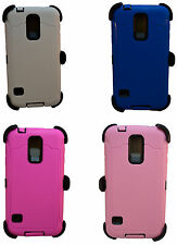 Defender case for Samsung Galaxy S5 works with otterbox holster