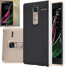 100% Nillkin Frosted Matte Shield Hard Shell Case+ Screen Protector for LG Phone