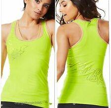 "ZUMBA FITNESS DANCE! ""METALLICS"" RACERBACK TOP SHIRT - fr.Convention,Harrods UK"