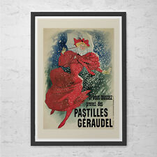 Art Nouveau Poster WINTER Wall Art French Art Print Belle Epoque Home Decor Past