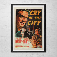 CLASSIC MOVIE POSTER -  Vintage Film Art Poster - Movie Poster Film Noir Movie C