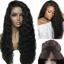 Remeehi 100% Human Hair Brazilian Curly Front / Full Lace Wig Women Wigs