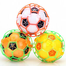 Child Kids Self Bouncing Vibrating Light-Up Ball Flashing Plastic Soccer Fun Toy