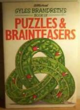 GYLES BRANDRETH'S BOOK OF PUZZLES AND BRAINTEASERS, GYLES BRANDRETH, Used; Good