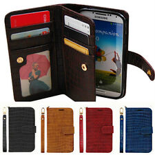 Samsung Galaxy Note5 n920 Gavialis Two-Side wallet Phone case With Strap