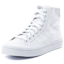 Adidas CoutrVantage Mid Mens Canvas White Trainers