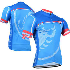 New Mens Bike Cycling Jersey Gear Short Sleeve Riding Race Shirt Tops Garments