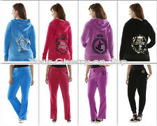 Juicy Couture Velour Track Suit Hoodie Pants or Separates -Women's Plus 1X-3X