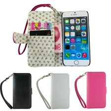 Fashion Wallet Pouch Flip PU Leather Case Cover Skin W/Lanyard For iPhone 6 4.7""