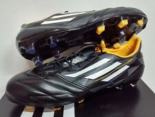 ADIDAS F50 ADIZERO TRX FG LEATHER FOOTBALL BOOTS CLEATS SOCCER MICOACH
