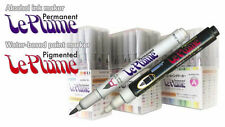 Marvy Le Plume Permanent (Alcohol based ink) individual marker: Neutral range