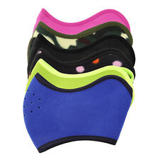 Unisex Fleece Winter Warm Shield Ski Cycle Snowboard Outdoor Half Face Mask QT
