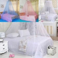 New Elegant Round Lace Curtain Dome Bed Canopy Netting Mosquito Net M0721