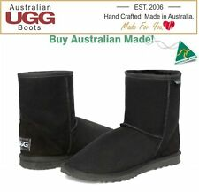 NEW 100% Australian Made, Sheepskin Short Ugg Boots, select from 16 Colours