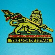 Lion Animal Faith Christian Christ Iron Sew on Patch Embroidered Applique Sew